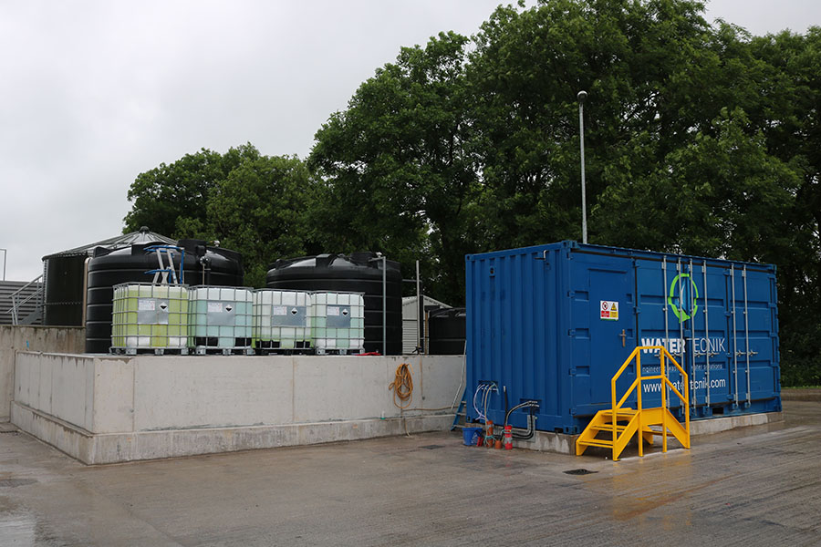 Ornua - 5m3/hr Containerised DAF System